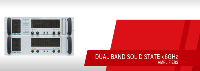 solid state dual band amplifiers